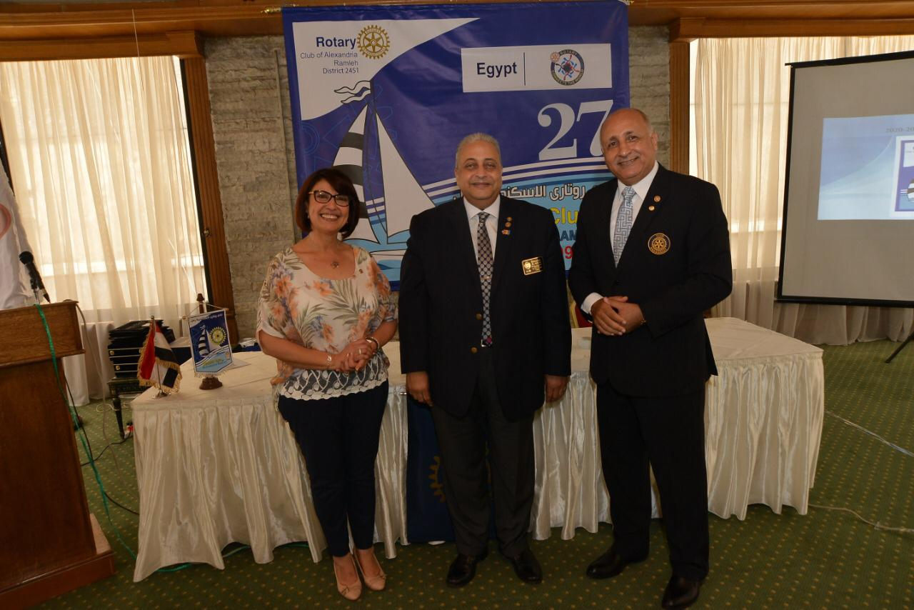 Rotary Club Alex Ramleh Handover July 2020