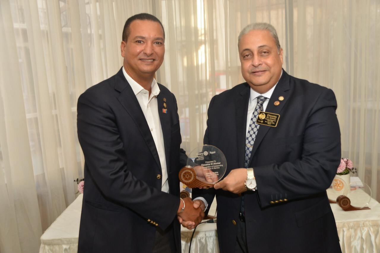 Rotary Club Alex Sporting Handover August 2020