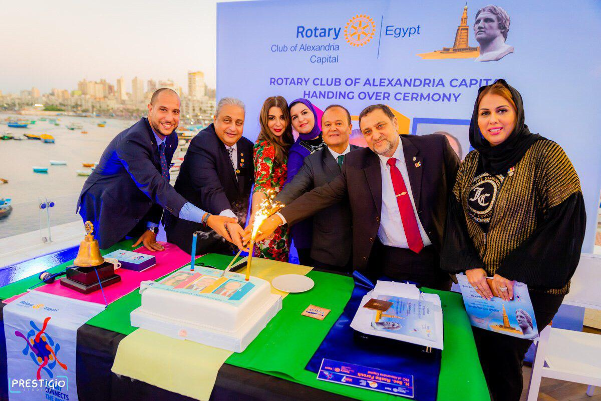 Rotary Club Alex Capital Handover July 2020