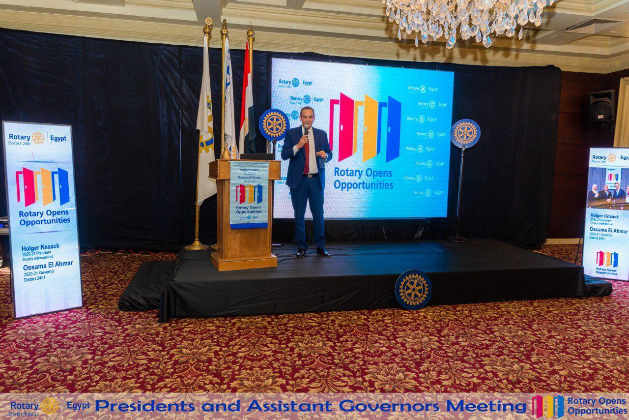 District Meeting Alex Damanhour Tanta 2020